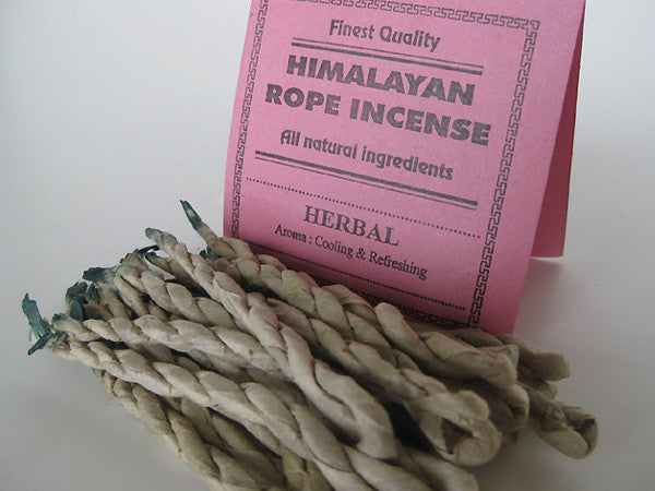 Herbal Rope Incense Traditionally Made In Nepal From