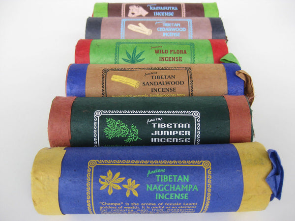 Tibetan Incense Sets are popular incense types at discounted rates