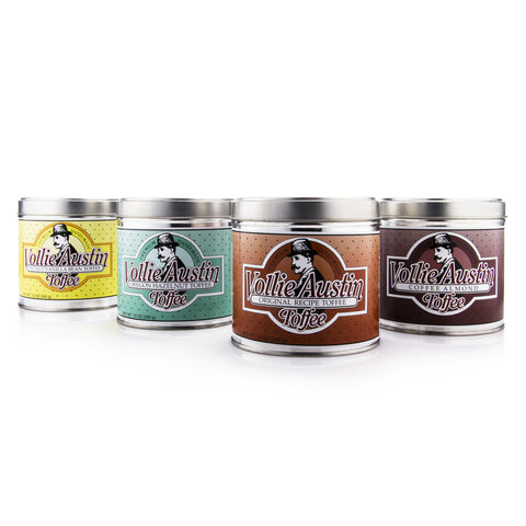 All Flavors - Four 12oz Tins