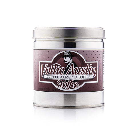 Coffee Almond Toffee - Four 5oz Tins