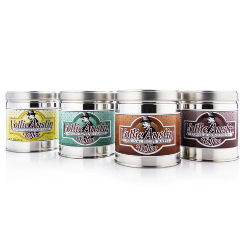All Flavors - Four 5oz Tins