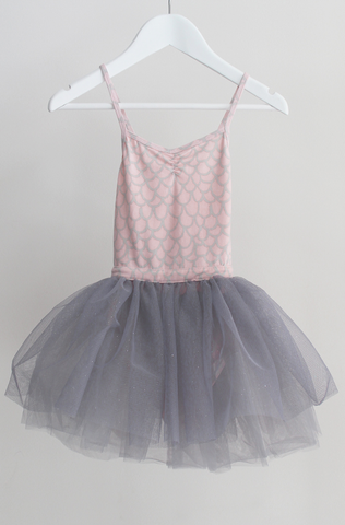 Electric Swan Dress - Pink Scales