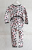 All in 1 Long Sleeve Onesie - Pink Paintbox - Tui B - 2