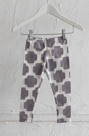 Classic Leggings - Crying Cross Grey