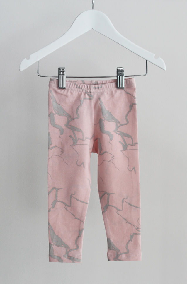 Classic Leggings - Pink Electric - Tui B - Sunday The Label