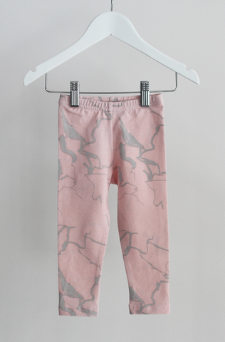 Classic Leggings - Pink Electric