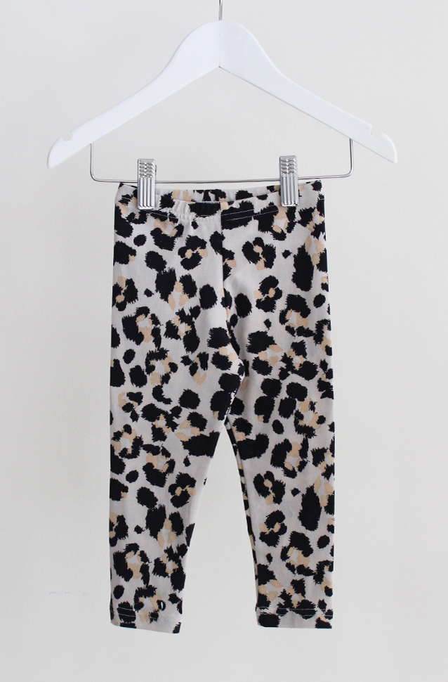 Classic Leggings - Dusty Leopard - Tui B - Sunday The Label