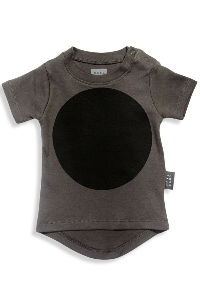 Drop Back T-Shirt - Grey Big Dot - Tui B - 1