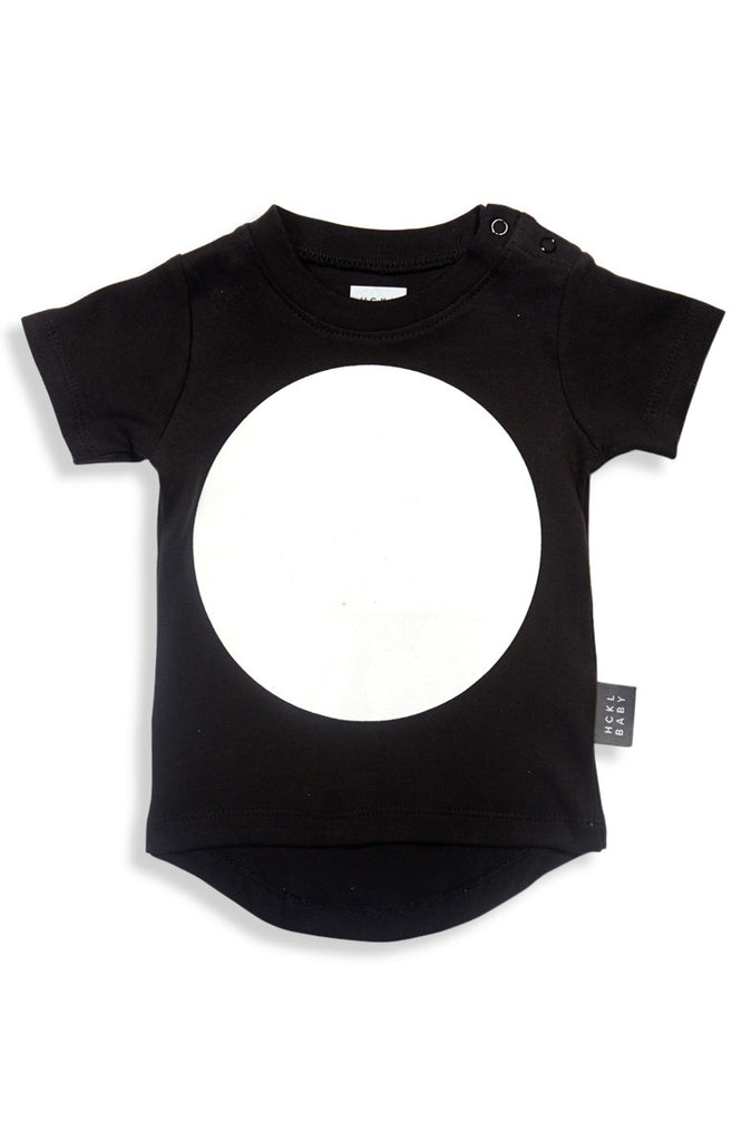 Drop Back T-Shirt - Black Big Dot - Tui B