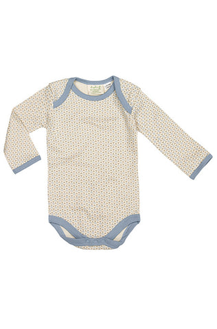 Long Sleeve Bodysuit - Little Boy Blue