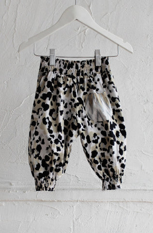 Shirred Pants - Leopard