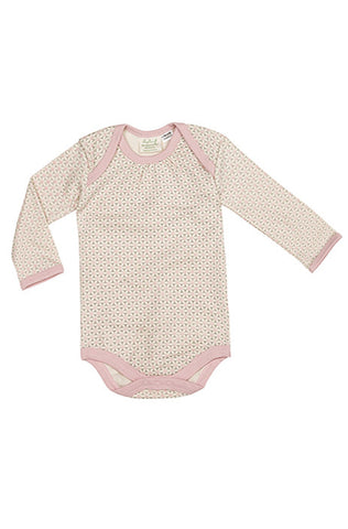 Long Sleeve Bodysuit - Dusty Pink