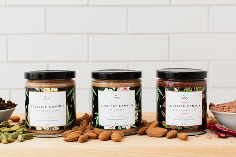Almond Butter Trio