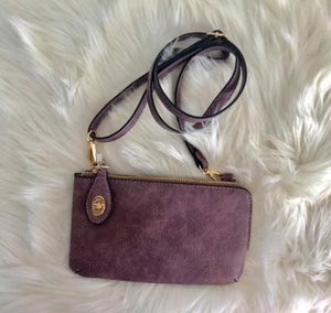 Kendall Twist Lock Wristlet / Crossbody