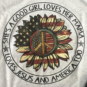 She's A Good Girl, Loves Her Mama Graphic Tee