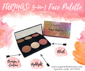 3-In-1 Face Palette