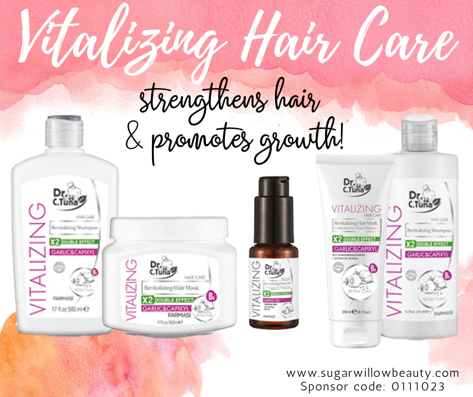 Vitalizing Garlic & Capixyl Hair Care