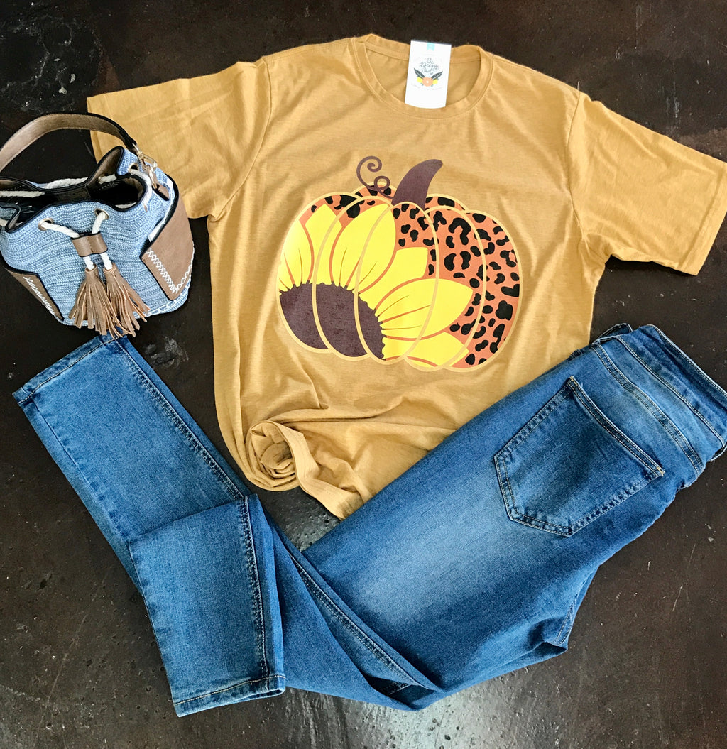 Golden Pumpkin Tee