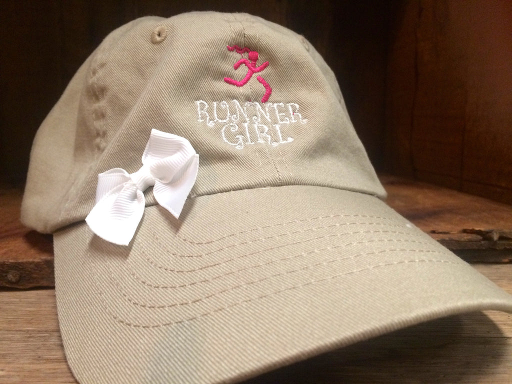 Runner Girl Bow Hat