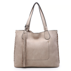 Macy Tassel 2-In-1 Tote Bag