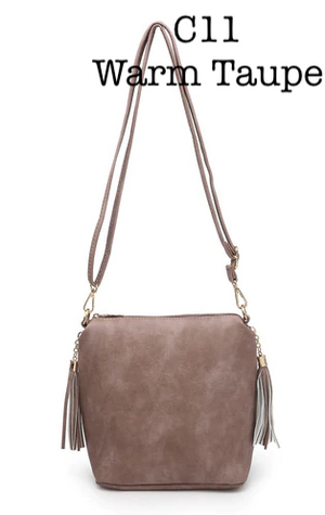 Conceal Carry Crossbody w/ Double Tassels