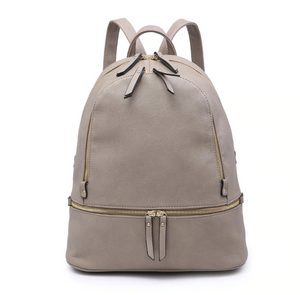 Triple Zip Pocket Backpack