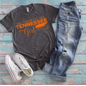 Heart Stoppin' Rock Toppin' Tennessee Girl Graphic Tee