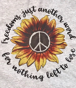 Freedom - Nothing Left To Lose Graphic Tee