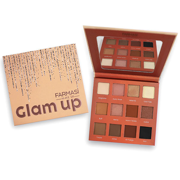 GLAM UP EYESHADOW PALETTE 12 SHADES