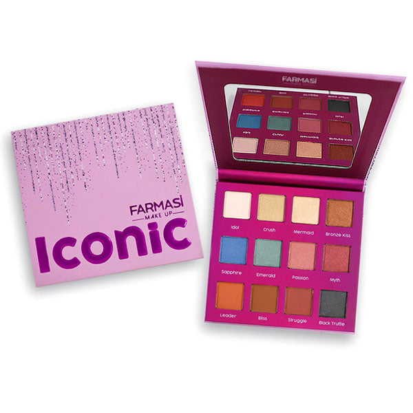 ICONIC EYESHADOW PALETTE 12 SHADES
