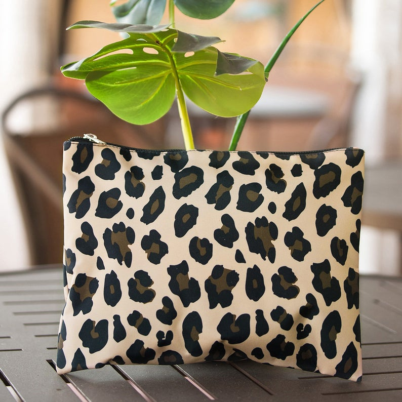 Perfect Wildside Zip Pouch