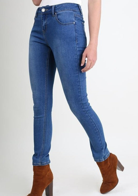 5 Pocket Stretch Skinny Jeans