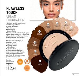 Flawless Touch Pata Cream Foundation