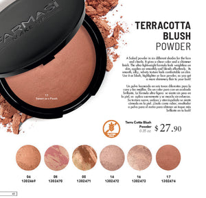 Terracotta Blush Powder