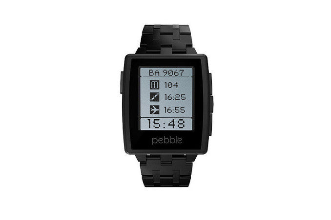 Pebble Steel (Jet Black)