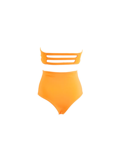 Good Morning Mango // Brazilian High Waisted Bottom