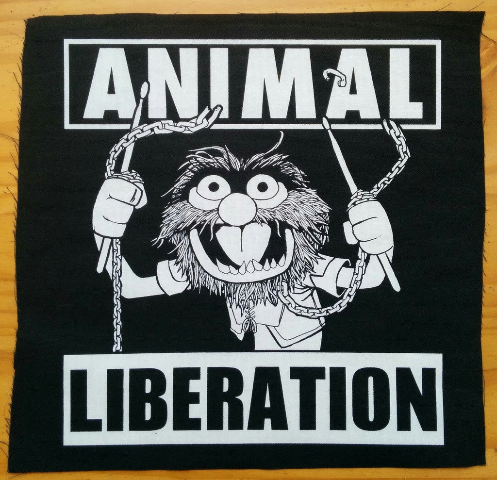 Back Patch: Animal Liberation by Joshum