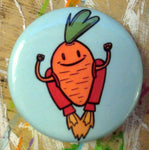 Pin: Jetpack Carrot by Nation Of Amanda (1.25 inch)