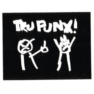 Sticker: Tru Punx by Mitch Clem