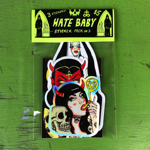 Hate Baby: Sticker Pack #2