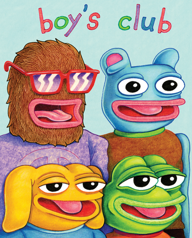 Boy's Club by Matt Furie