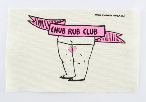 Patch: Chub Rub Club - by Nation Of Amanda