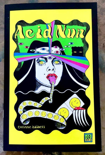 Acid Nun #1 by Corinne Halbert