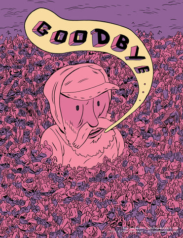 "Print: ""Goodbye"" by Ben Passmore"