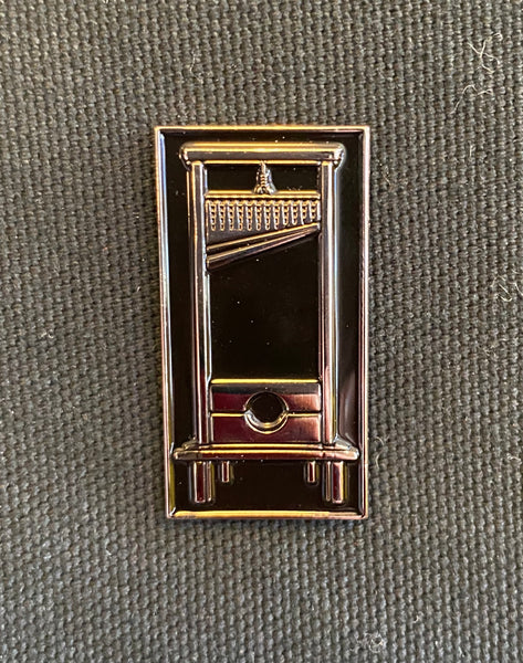 Enamel Pin: Guillotine by JXRXKX