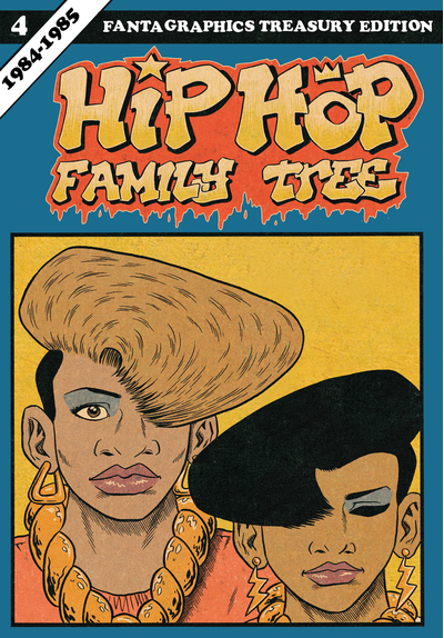 Hip Hop Family Tree Vol. 4 by Ed Piskor