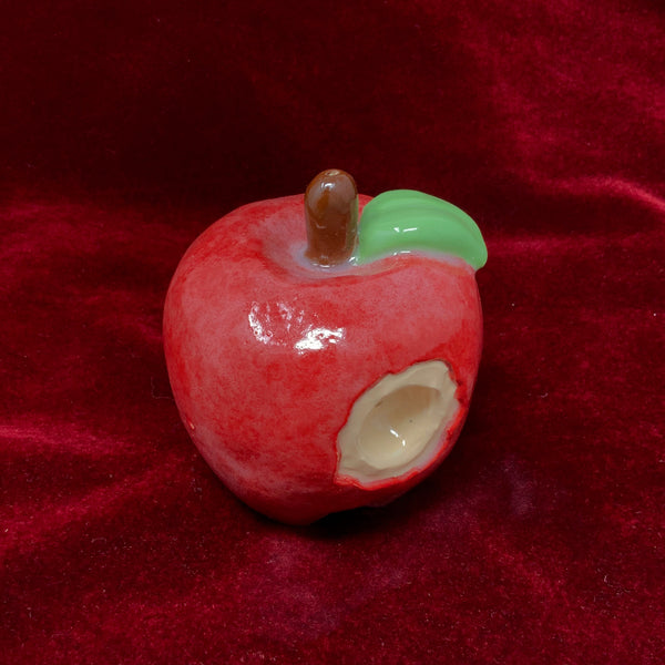Apple Ceramic Pipe by Sarah Duyer