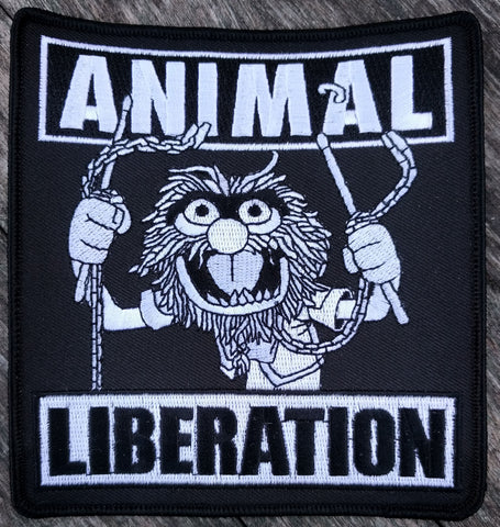 Embroidered Patch: Animal Liberation