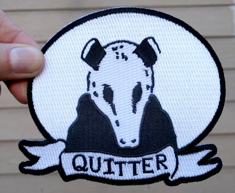 Embroidered Patch: Clementine - Quitter