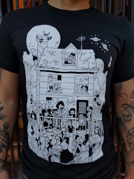 Shirt: Rad House by Liz Suburbia